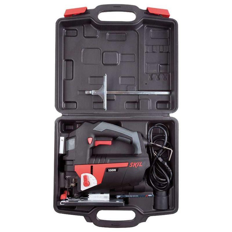 Serra-Tico-Tico-Skil-4550-550W---1-Lamina---1-Adaptador-para-aspirador-de-po---Maleta-110V