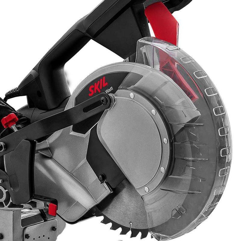 Serra-de-Esquadria-Skil-3311-1800W---1-Disco---1-Saco-coletor-de-po---1-Sargento-e-Jogo-de-extensao-110V