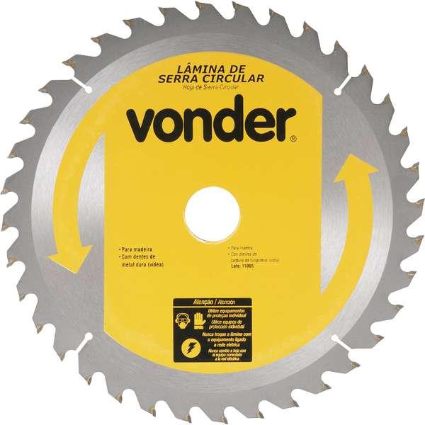Lamina-de-Serra-Circular-Vonder-com-Dentes-de-Metal-Duro-Videa-400-mm-X-30-mm-36-Dentes