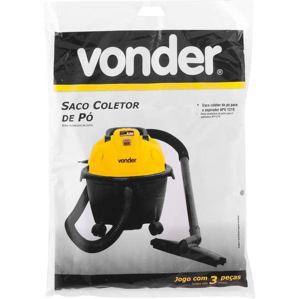 Saco-Coletor-de-Po-Vonder-Para-Aspirador-Apv-1210-Jogo-com-3-Pecas