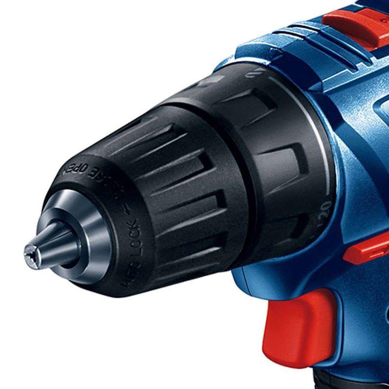 Parafusadeira-Furadeira-a-Bateria-1-2--Bosch-GSR-180-LI-18V---2-baterias-15Ah---1-Carregador-Rapido-Bivolt---Maleta