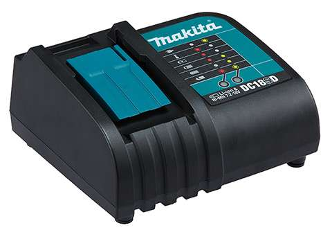 Parafusadeira-Furadeira-de-Impacto-a-Bateria-Makita-DHP453SYE-18V----2-Baterias---Carregador---Bit---Maleta