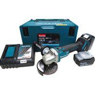Esmerilhadeira Angular a Bateria Makita 4.1/2' DGA456RTJ 18V