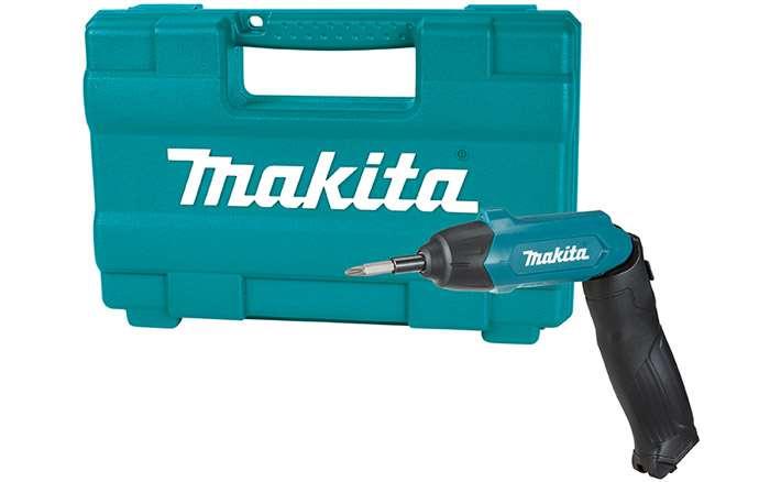 Parafusadeira-Dobravel-a-Bateria-Makita-DF001DW-3.6V---Carregador-Bivolt---81-Acessorios---Maleta