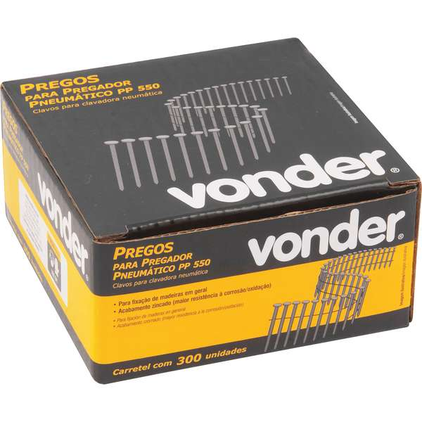 Prego-Vonder-Liso-45-mm-Carretel-com-300-Pecas-Para-O-Pregador-Pp-550