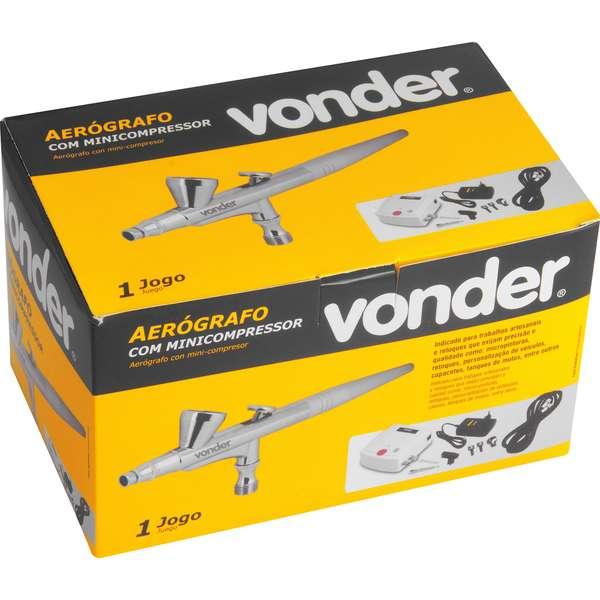 Aerografo-Vonder-com-Minicompressor