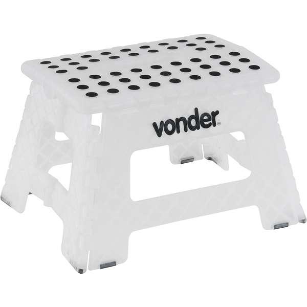 Banqueta-Plastica-Vonder-Dobravel-Branca-Altura-220-mm