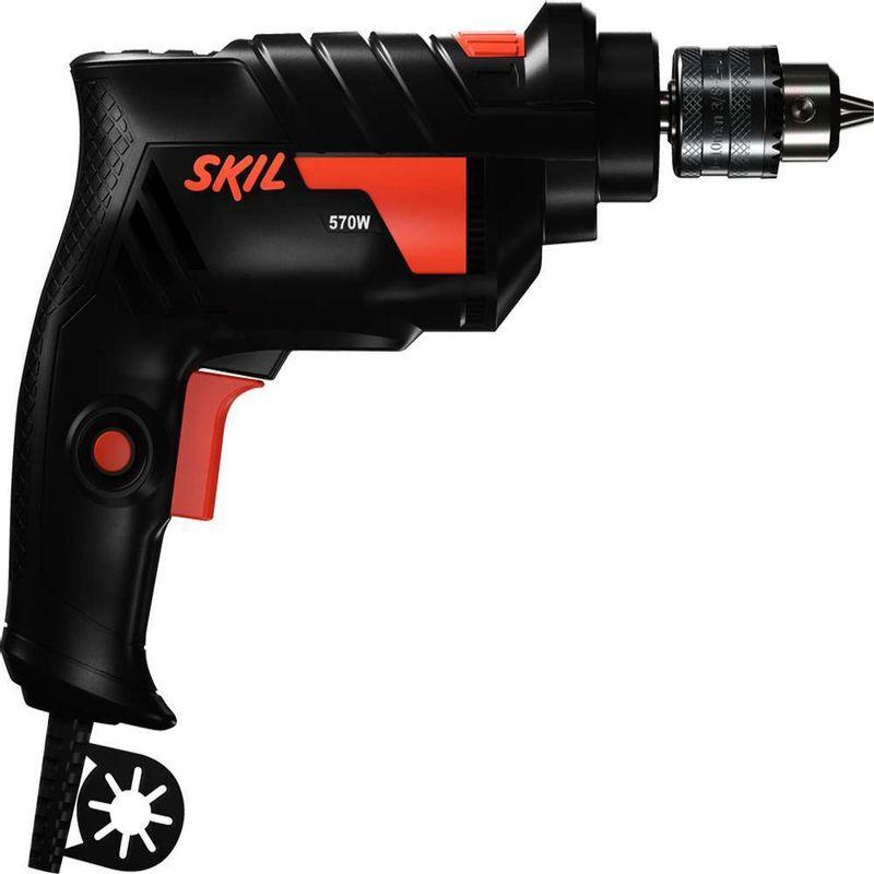 Furadeira-de-Impacto-Skil-6600-570W-e-3-Brocas-para-concreto-110V