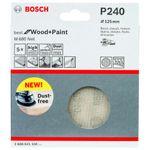 Disco-de-Lixa-Bosch-M480-Best-for-Wood---Paint-125mm-G240---5-unidades