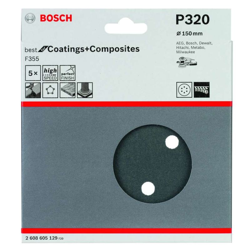 Disco-de-Lixa-Bosch-F355-Best-for-Coatings-andposites-150mm-G320---5-unidades