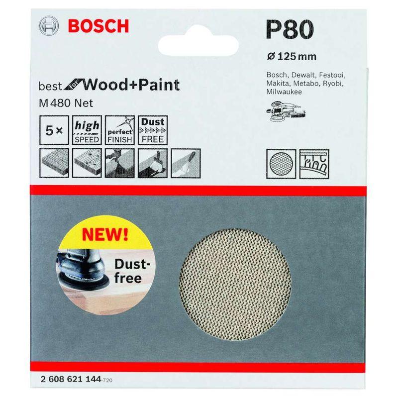 Disco-de-Lixa-Bosch-M480-Best-for-Wood---Paint-125mm-G80---5-unidades