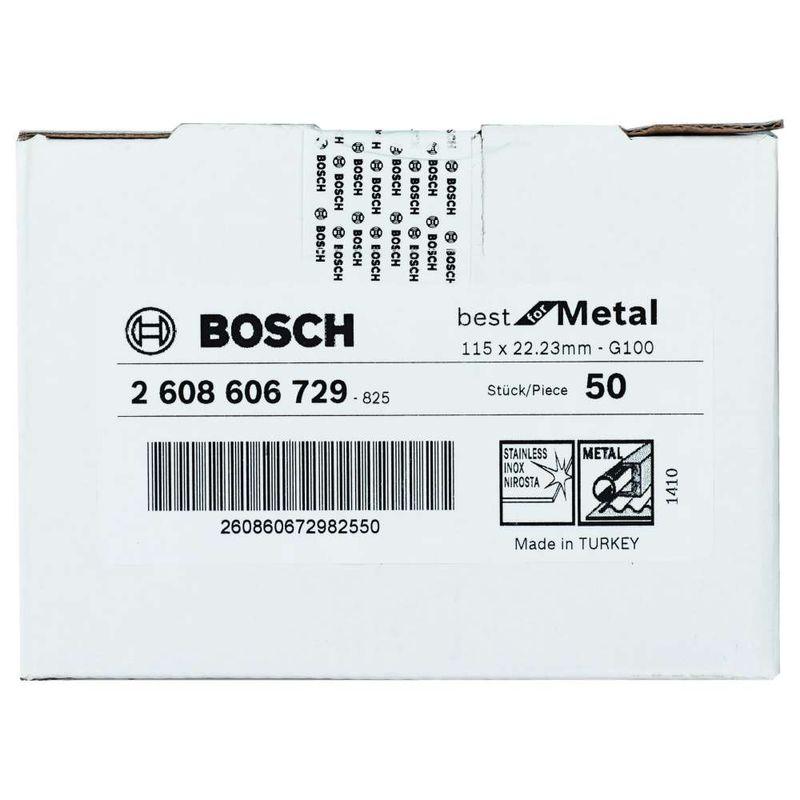 Disco-de-Lixa-em-Fibra-Bosch-R574-Best-for-Metal-115mm-G100