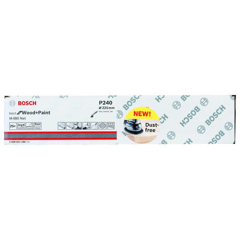 Disco-de-Lixa-Bosch-M480-Best-for-Wood---Paint-225mm-G240---25-unidades