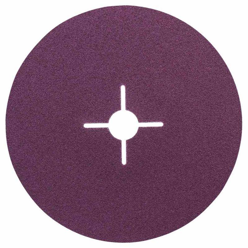 Disco-de-Lixa-em-Fibra-Bosch-R444-Expert-for-Metal-180mm-G100