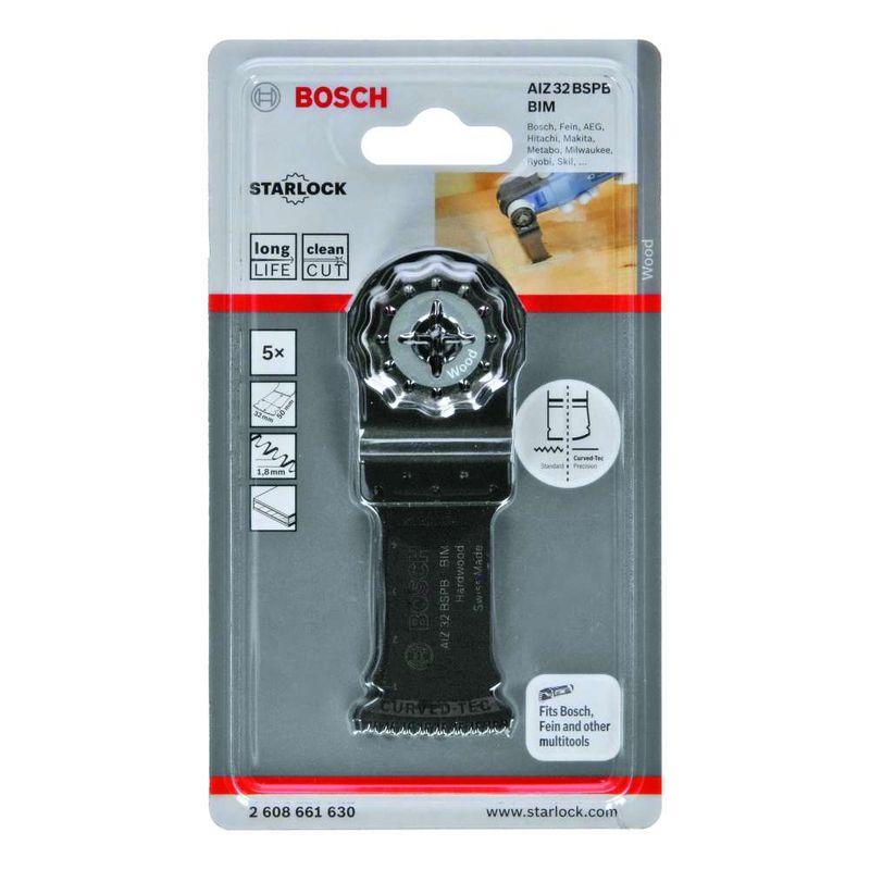 Lamina-de-serra-de-imersao-Bosch-para-multicortadora-BIM-AIZ-32-BSPB-Hard-Wood-50-x-32mm---5-unidades