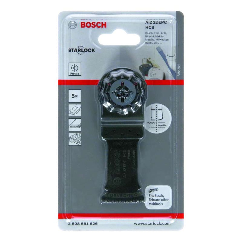 Lamina-de-serra-de-imersao-Bosch-para-multicortadora-HCS-AIZ-32-EPC-Wood-50-x-32mm---5-unidades
