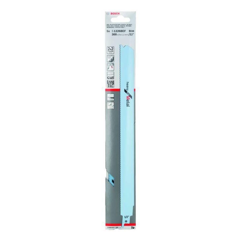 Lamina-de-serra-sabre-Bosch-S1226BEF-Heavy-for-Metal---5-unidades