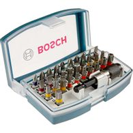 Kit de Pontas Bosch para parafusar - 32 unidades