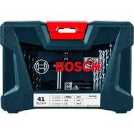 Kit de Pontas e Brocas Bosch V-Line para parafusar e perfurar - 41 unidades