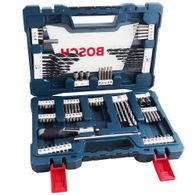 Kit de Pontas e Brocas em Bosch V-Line para parafusar e perfurar - 91 unidades