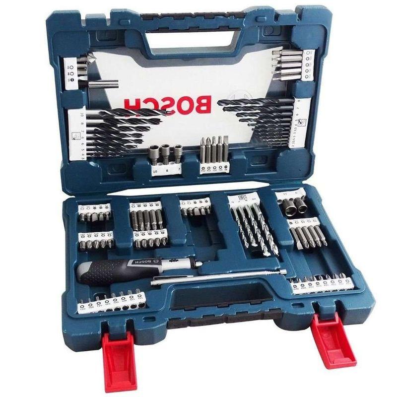 Kit-de-Pontas-e-Brocas-em-Bosch-V-Line-para-parafusar-e-perfurar---91-unidades