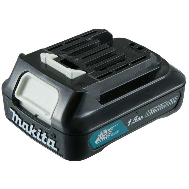 Parafusadeira-Furadeira-de-Impacto-a-Bateria-Makita-3-8--HP333DWY-12V---2-baterias---Carregador---Maleta-Bit