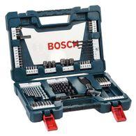 Kit de Pontas e Brocas Bosch V-Line para parafusar e perfurar - 83 unidades