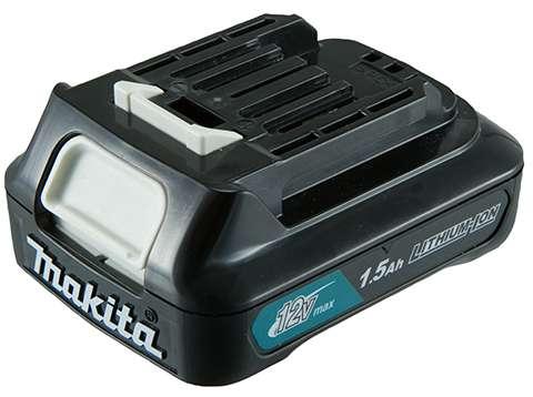 Kit-Combo-Makita-Parafusadeira-Furadeira-De-Impacto-12V-HP333DWYX3---Aparador-de-Grama-a-Bateria-12V-UR100DZX--Bateria-de-ions-de-litio-12V-BL1021B