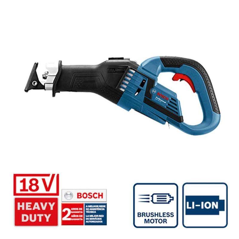 Serra-Sabre-a-Bateria-Bosch-GSA-18V-32-18V-sem-Bateria-e-sem-Carregador
