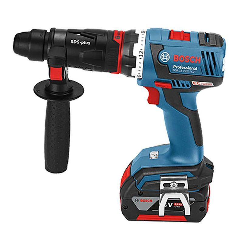 Parafusadeira-Furadeira-a-Bateria-1-2--Bosch-GSR-18V-60-FC-Flexiclick-18V---3-mandris---2-Baterias---Carregador-Bivolt---Maleta-L-BOXX