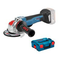 """Esmerilhadeira Angular a Bateria Bosch 5"""" GWX 18V-10 PC XLOCK 18V sem Bateria e sem Carregador + Maleta L-BOXX"""