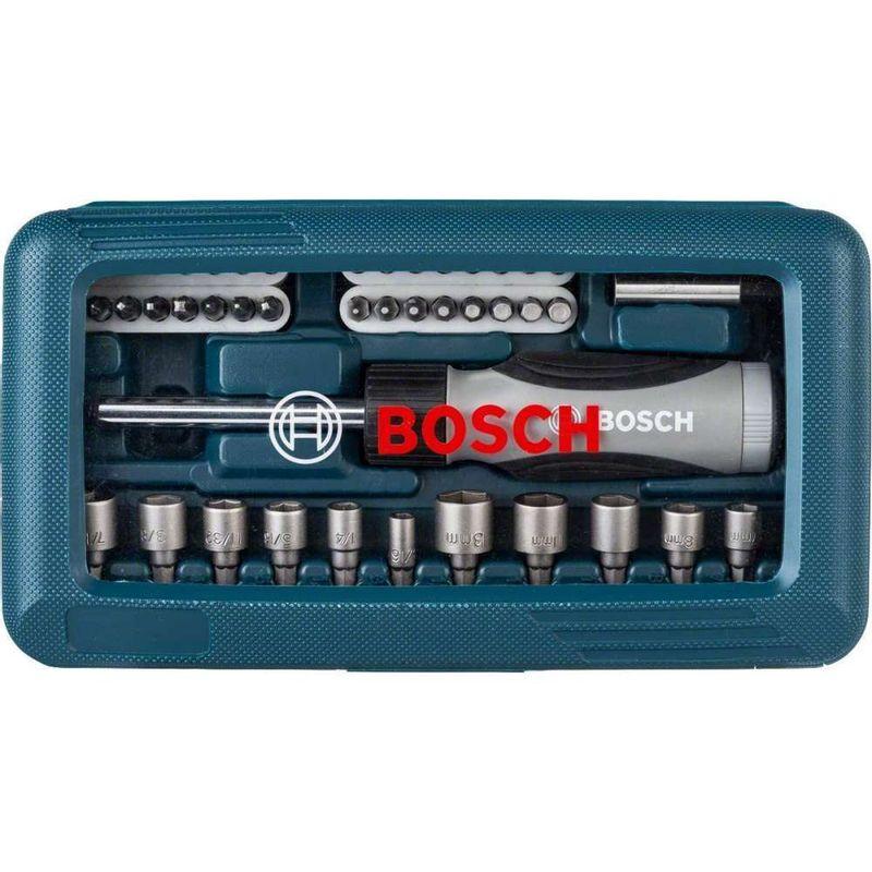 Kit-de-Pontas-e-Soquetes-Bosch-para-parafusar-com-46-unidades
