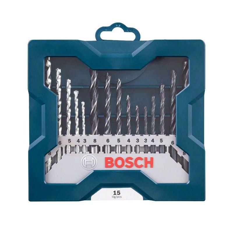 Kit-de-Brocas-para-Concreto-Metal-e-Madeira-Bosch-Mini-X-Line-3-8mm-com-15-unidades-Kit-de-Brocas-para-Concreto-Metal-e-Madeira-Bosch-Mini-X-Line-30-80mm-com-15-unidades