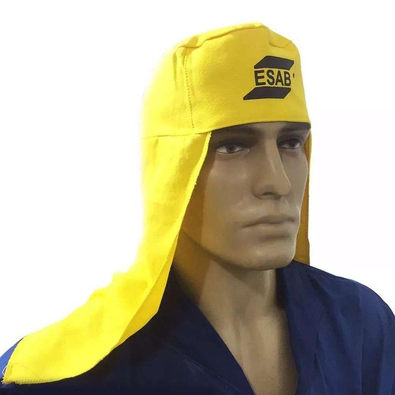Touca-de-Soldador-ESAB-Amarela