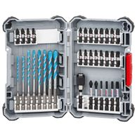 Kit de Pontas e Brocas Bosch MultiConstruction - 35 unidades Impact Control