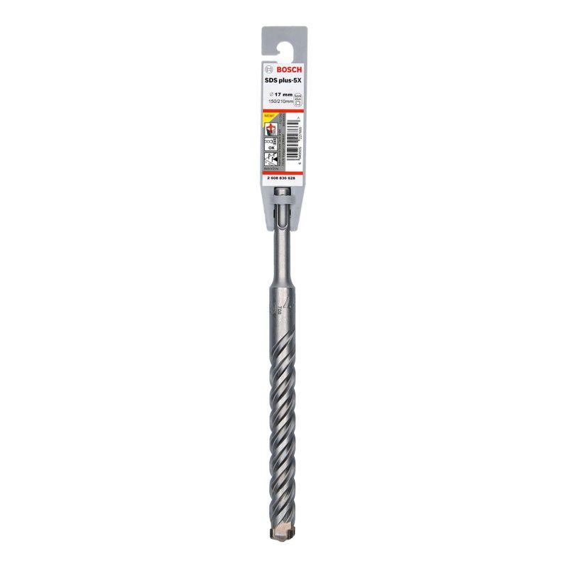 Broca-Bosch-SDS-plus-5X-para-concreto-Ø17-x-150-x-210mm