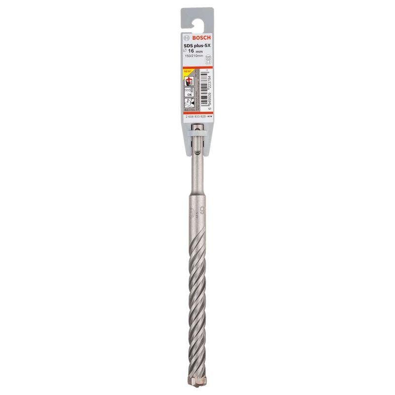 Broca-Bosch-SDS-plus-5X-para-concreto-Ø16-x-150-x-210mm