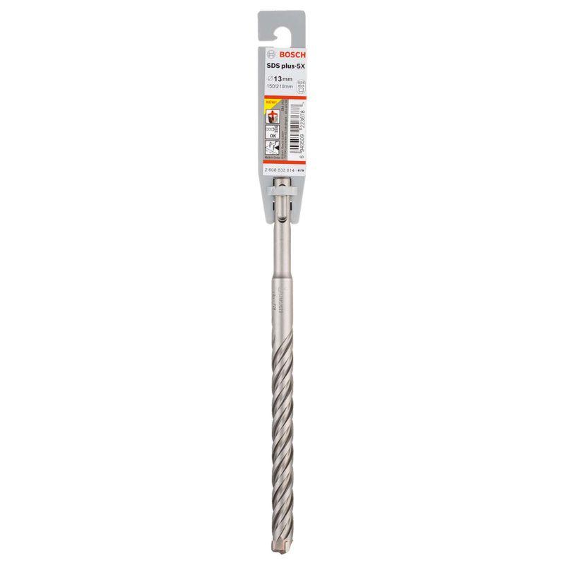 Broca-Bosch-SDS-plus-5X-para-concreto-Ø13-x-150-x-210mm