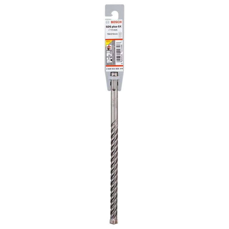 Broca-Bosch-SDS-plus-5X-para-concreto-Ø11-x-150-x-210mm