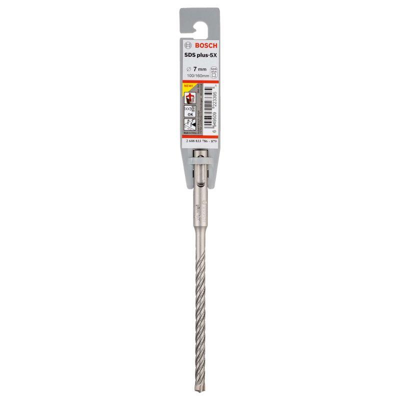 Broca-Bosch-SDS-plus-5X-para-concreto-Ø7-x-100-x-160mm