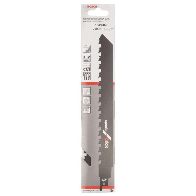 Lamina-de-serra-sabre-Bosch-S1543HM-Special-for-Brick-1-unidade