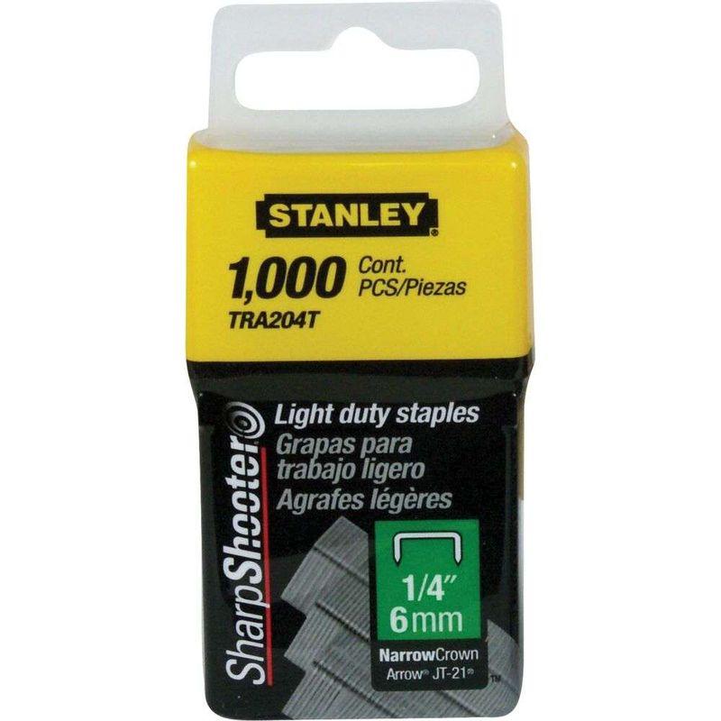 Grampos-Stanley-1-4--TRA204T-1.000-Pecas