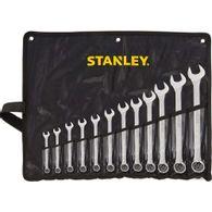Jogo de Chaves Combinadas Anguladas Stanley STm80932-840 com 12 Peças