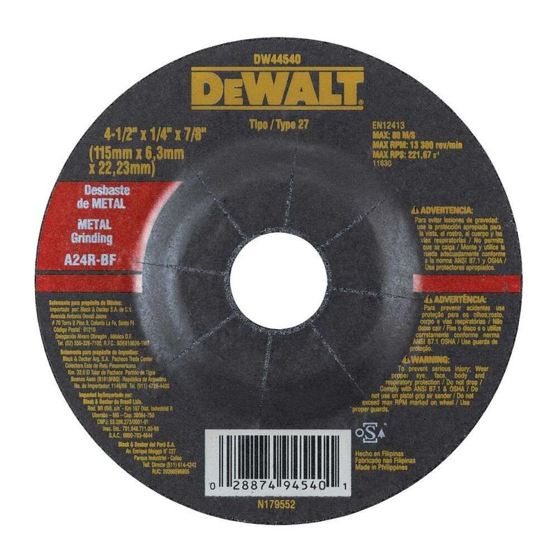 Disco-de-Desbaste-Dewalt-7-8--DW44540-Metal-4.1-2--X-63-mm
