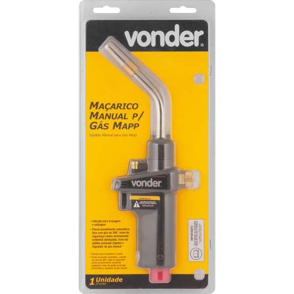 Macarico-Vonder-Manual-Para-Gas-Mapp