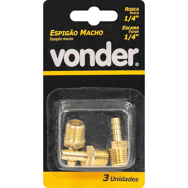 Espigao-Macho-Rosca-Vonder-de-1-4--com-Escama-de-1-4-