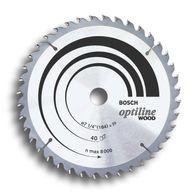 Disco de serra circular Bosch Optiline Wood ø356 furo de 30mm espessura de 2,5mm 30 dentes