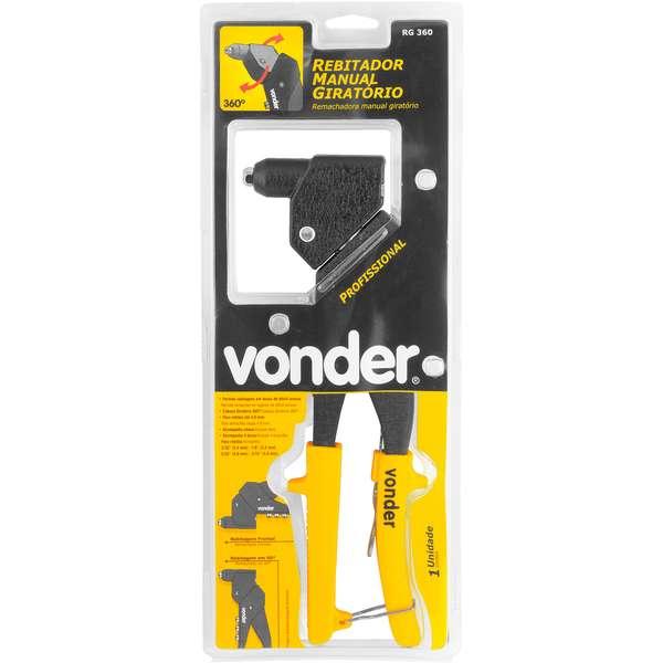 Rebitador-Vonder-Manual-Tipo-Alicate-Cabeca-Giratoria