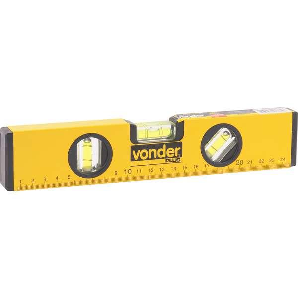 Nivel-de-Aluminio-Vonder-10--com-Base-Magnetica-Plus