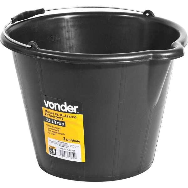 Balde-de-Plastico-Vonder-Extraforte-12-Litros-Preto